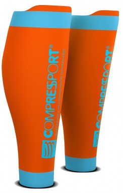 Гетры COMPRESSPORT R2V2 (Race & Recovery) (Оранжевый)