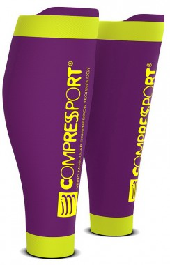 Гетры COMPRESSPORT R2V2 (Race & Recovery) (Фиолетовый)